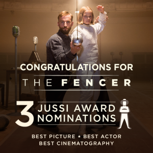 The Fencer (Miekkailija) nominated for Best Picture, Best Actor and Best Cinematography Jussi Awards