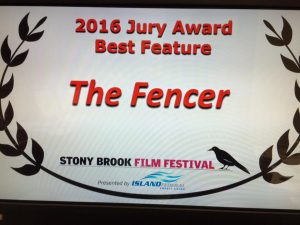 The Fencer (Miekkailija) awarded for Best Feature Film in New York